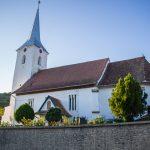 Az erdőszentgyörgyi református templom kivülről