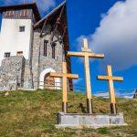 Kálvária és kápolna a Bekecs-tetőn